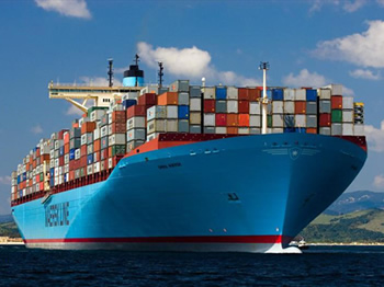 sea freight deliveries worldwide