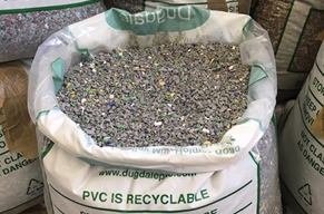 Tubeway recycle PVC production waste